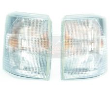 RANGE ROVER P38 FRONT CLEAR INDICATOR LIGHT SET (2) WITH BULBS